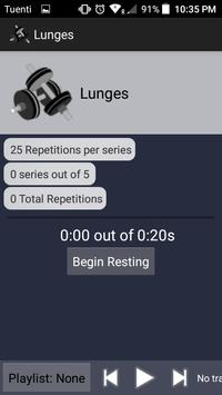 Exercise Counter screenshot 1