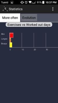 Exercise Counter screenshot 2