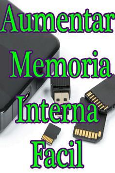 Aumentar Memoria Interna del Celular Guía Fácil poster