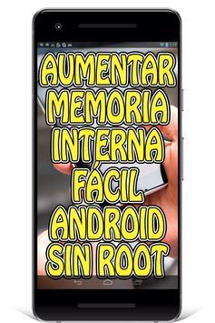 Aumentar Memoria Interna del Celular Guía Fácil screenshot 1