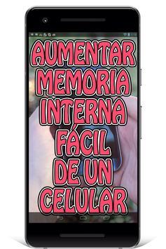 Aumentar Memoria Interna del Celular Guía Fácil screenshot 3