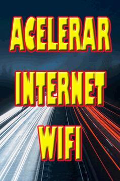 Acelerar Internet Wifi poster
