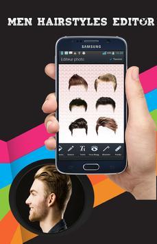 Men hairstyle set my face apk screenshot