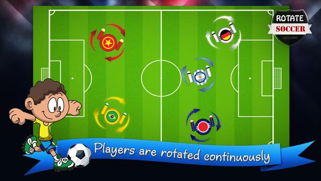 ROTATE SOCCER poster