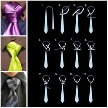 men's tie tutorial apk screenshot