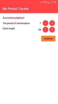 Period Tracker and Ovulation Calendar 2018 screenshot 1