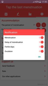 Period Tracker and Ovulation Calendar 2018 screenshot 4