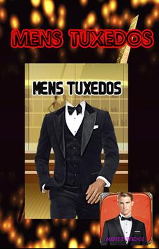 Mens tuxedos poster