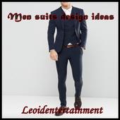 Men suit design ideas icon
