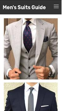 Men's Suits Guide apk screenshot