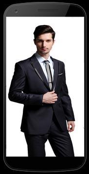 Mens Suits Photo Editor Frames screenshot 1