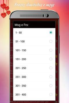 Mensagens e frases apaixonado screenshot 10
