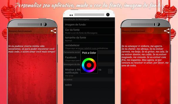 Mensagens e frases apaixonado screenshot 12
