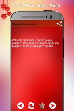 Mensagens e frases apaixonado screenshot 2