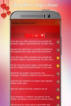 Mensagens e frases apaixonado screenshot 6