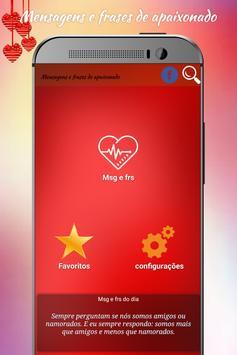 Mensagens e frases apaixonado screenshot 7