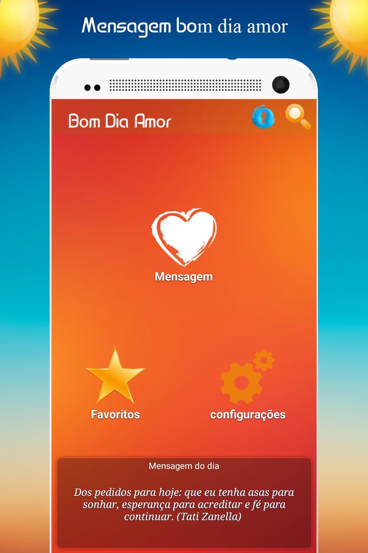 Mensagem De Bom Dia Amor For Android Apk Download