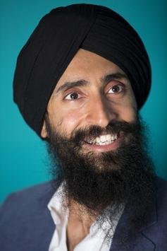 Men Turban Sikh Street Styles poster
