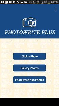 PhotoWrite Plus Free poster