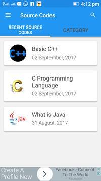 Source Codes screenshot 1