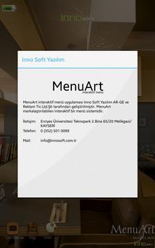 MenuArt Digital Tablet Menü apk screenshot