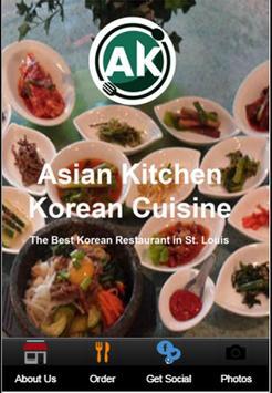 Asian Kitchen Korean Cuisine poster