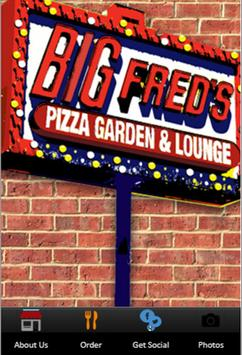 Big Fred's Pizza poster