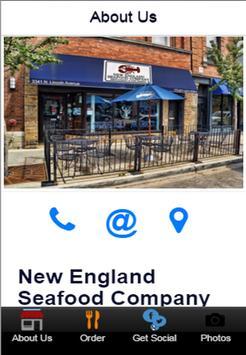 New England Seafood Company apk screenshot