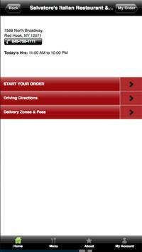 Salvatores Pizza apk screenshot