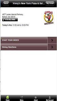 Vinny's NY Pizza apk screenshot