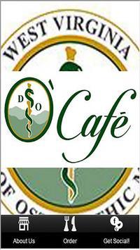WVSOM O'Cafe poster