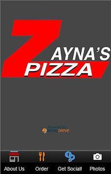 Zayna's Pizza apk screenshot