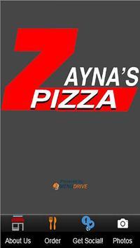 Zayna's Pizza poster