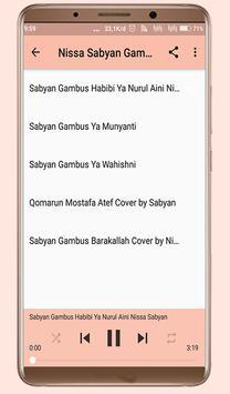 Gambus Nissa Sabyan Offline MP3 screenshot 1