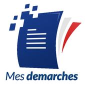 Mes démarches - vos droits et services en ligne иконка