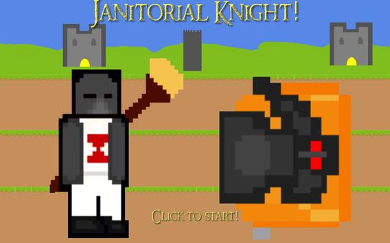 Janitorial Knight poster
