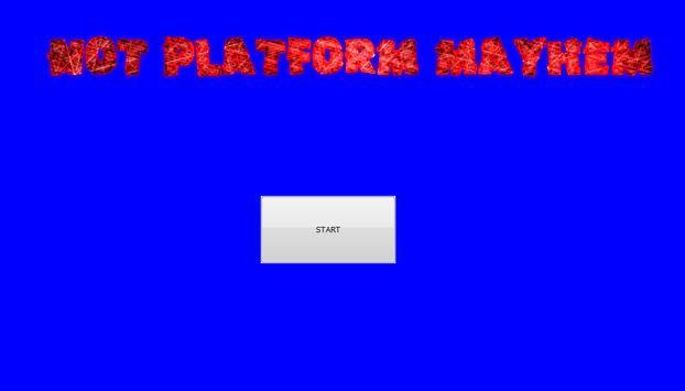 Not Platform Mayhem poster