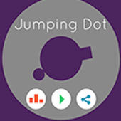 Jumping dot icon
