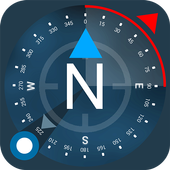 Compass GPS icon