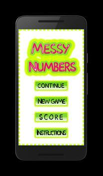 Messy Numbers screenshot 1