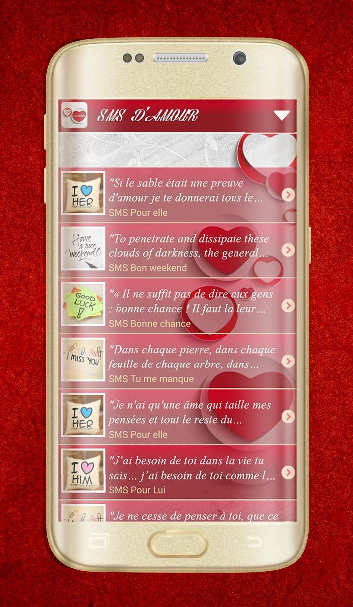 Message Damour Poeme Amitié Para Android Apk Baixar