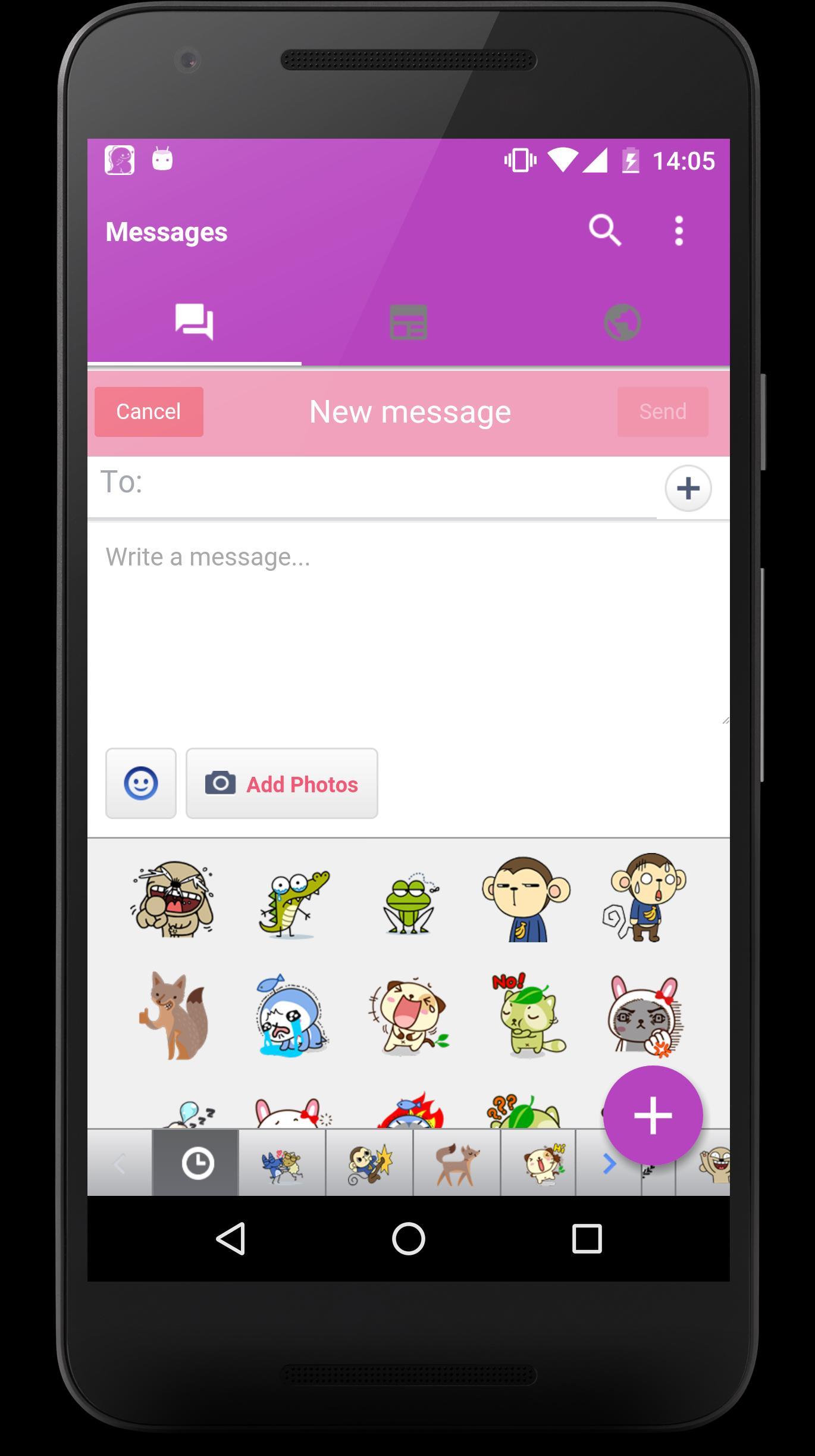 fast messenger for facebook apk download