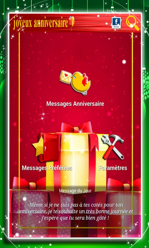 Messages Anniversaire For Android Apk Download