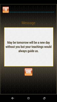 Farewell Messages and quotes apk screenshot