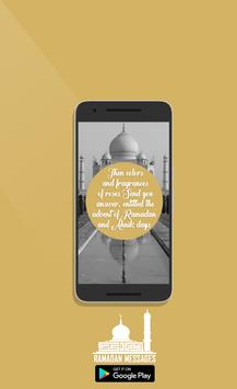 Ramadan Messages 2017 poster