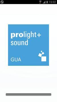Prolight+Sound Guangzhou poster
