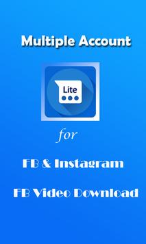 Mini Lite for Facebook - Manage Account apk screenshot
