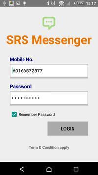SRS Messenger poster