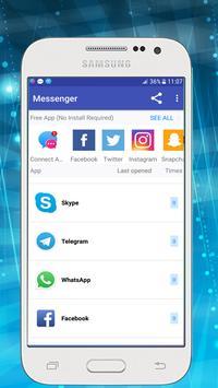 Messenger for All Social Networks screenshot 1