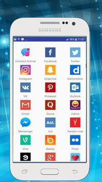 Messenger for All Social Networks screenshot 2